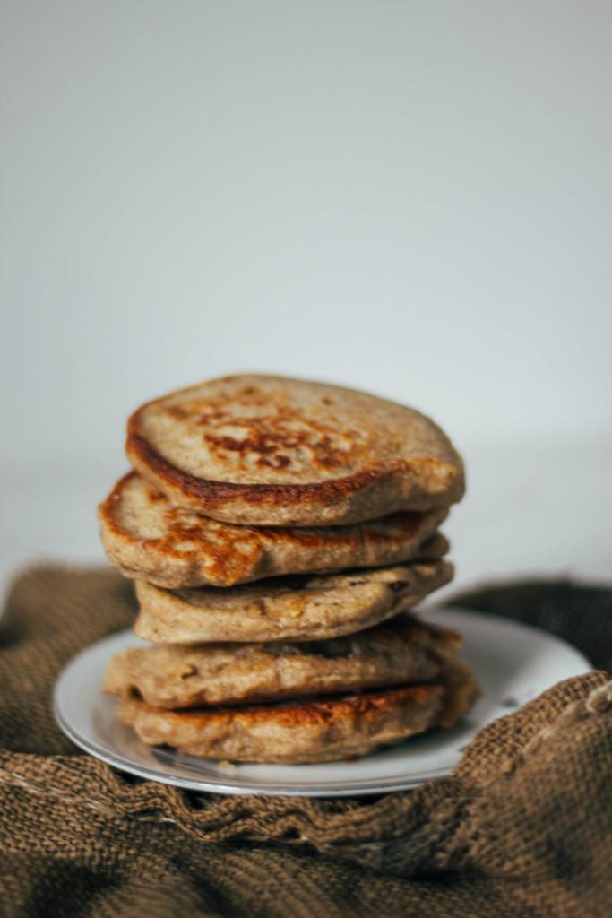 placki z mąki gryczanej