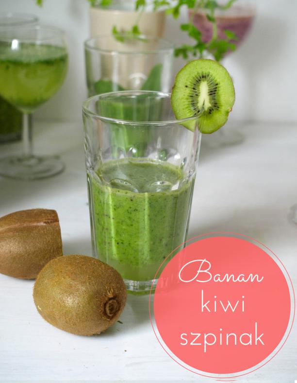 banan kiwi smoothie