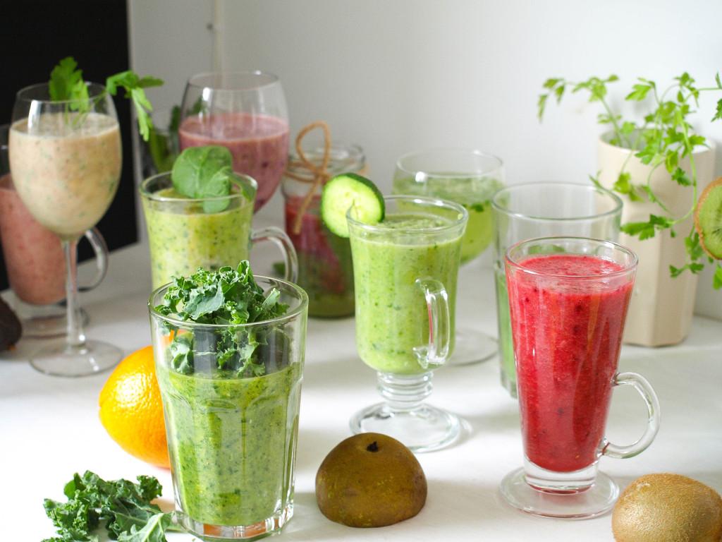 Koktajle owocowo-warzywne. Zdrowe przepisy na smoothie