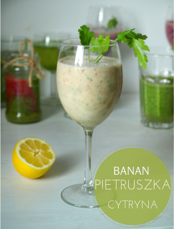 smoothie z pietruszką