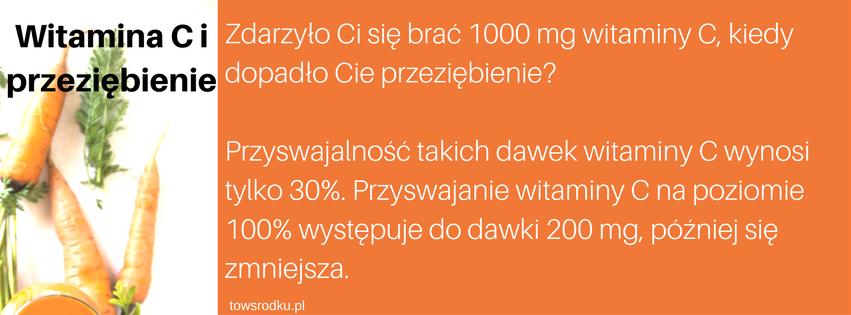 witamina c na przeziebienie