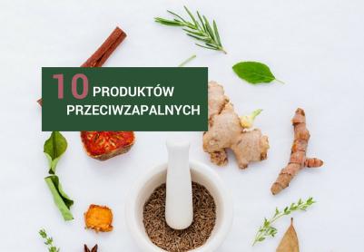 10 produktów przeciwzapalnych