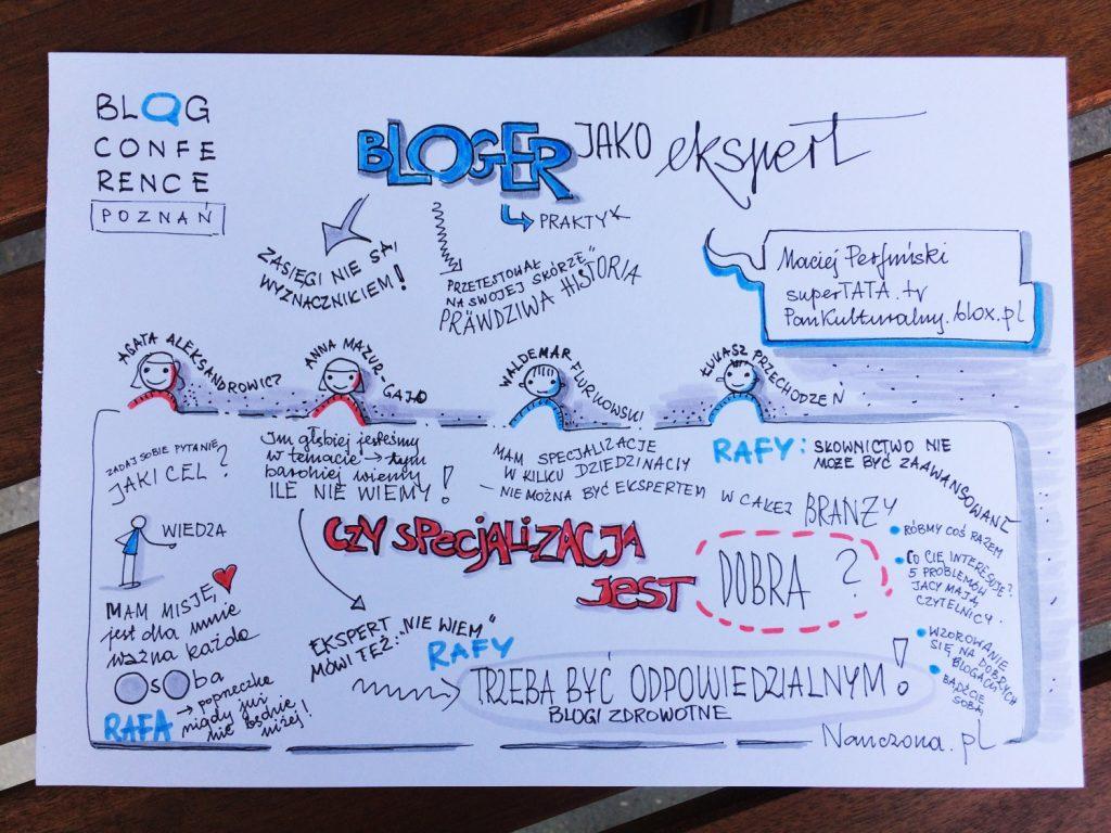 Bloger, jako ekspert. Blog Conference Poznań 2017. Blog specjalistyczny – kilka wskazówek
