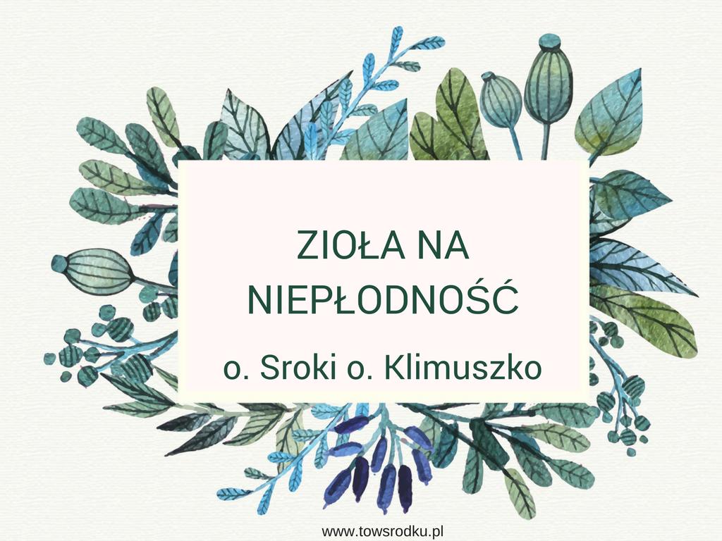 Zioła ojca Klimuszko i ojca Sroki – receptura na niepłodność